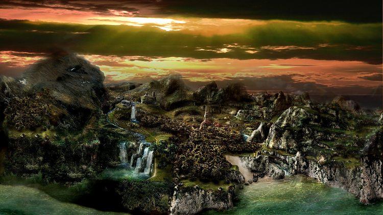 Вид на Рудниковую долину.