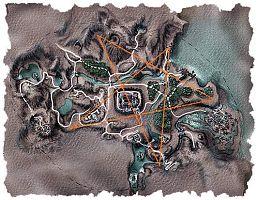 Карта с расположением юниторов.