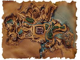 Карта Рудниковой долины.