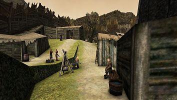 Внешнее кольцо Старого лагеря. Снеф готовит еду.