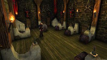 Замок Старого лагеря. Оружейная.