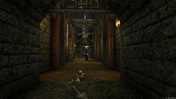 Замок Старого лагеря. Замковая тюрьма.