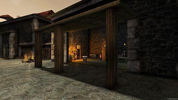 Замок Старого лагеря. Замковая кузница.