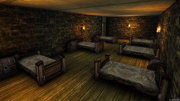 Замок Старого лагеря. Казармы стражи.