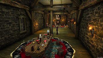 Замок Старого лагеря. Тронный зал.