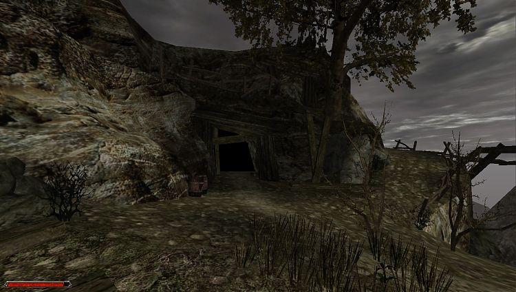 Заброшенная шахта.