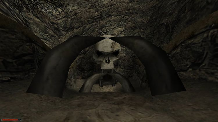 Вход в кладбище орков.