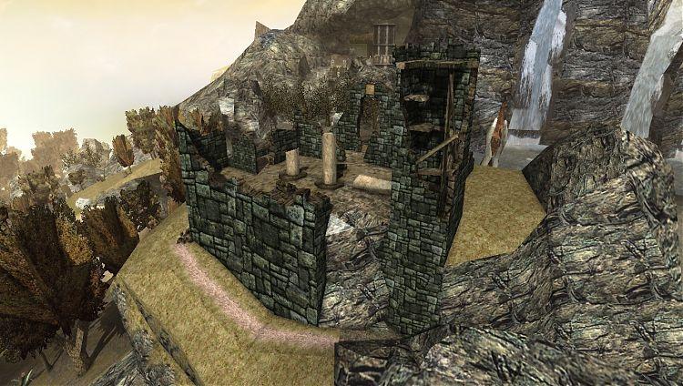 Руины старого замка.