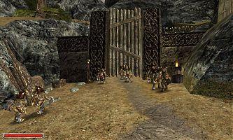 Ворота, ведущие в город орков.