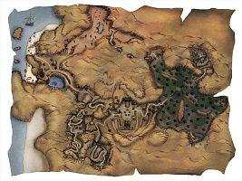 Карта Яркендара.