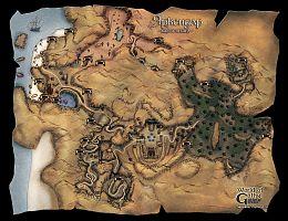 Карта пещер Яркендара.