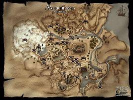 Карта пещер Рудниковой долины (Миненталя).