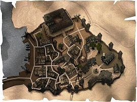 Карта Хориниса (города).