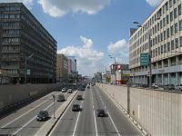 Сущевский вал. Типичная крупная московская улица...