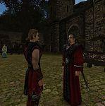 Безымянный герой и маг Огня Дарон