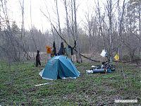 А это - палатка-сушильня.