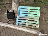 Креативные скамеечки. Дёшево и сердито!