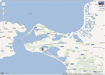 Посёлок Веселовка на карте GoogleMaps.
