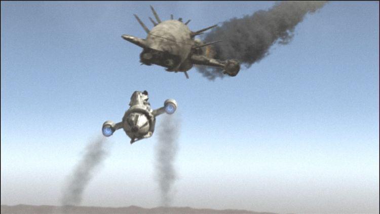Уош исполняет опасный трюк под названием «Сумасшедший Иван».