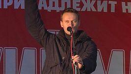 Алексей Навальный, выступление на одном из «Русских маршей».