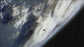 Планета Сент-Олбанс (St. Albens), вид из космоса