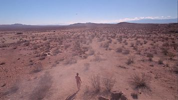 Каньон Айзис (Isis canion) на планете Беллерофон (Bellerophone), самая засушливая точка планеты.