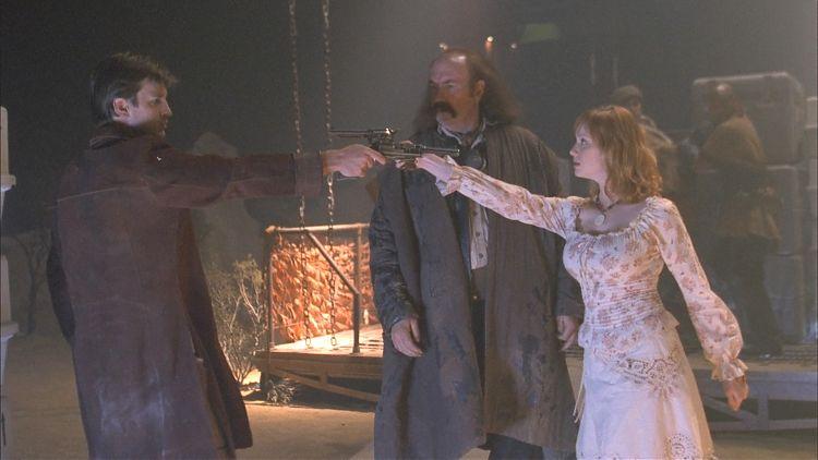 Встреча Мэла и Саффрон.