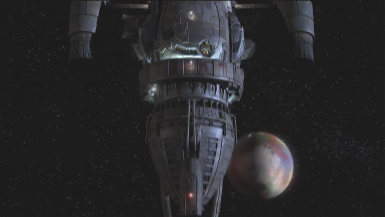 Корабль и безымянная планета. Просто объекты в пространстве...