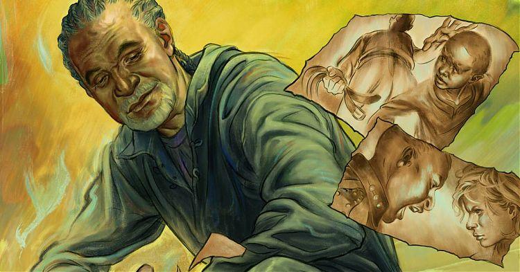 Фрагмент комикса «Исповедь пастора» (The Shepherd's Tale)