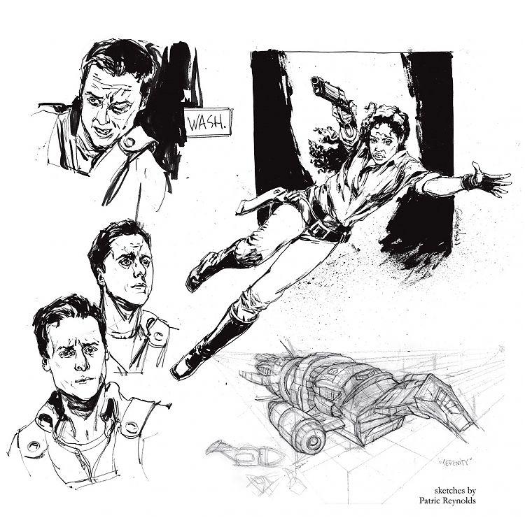Фрагмент бонусной картинки к комиксу «Лист на ветру» (Float out)