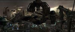 Кадры из сцен на планете Бомонд, над которыми работала студия Illusion Arts.
