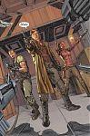 """Страница из комикса """"Файрфлай"""", выпущенного этим летом издательством Dark Horse Comics. Страница из комикса """"Файрфлай"""", выпущенного этим летом издательством Dark Horse Comics. Над сценарием вышедших трёх выпусков, работал сам Джос Уэдон вместе с Бреттом М"""