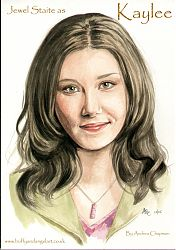 Jewel Staite as Kaylee from Firefly