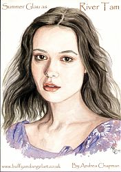 Summer Glau  as River Tam from Firefly