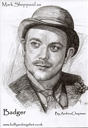 Mark Sheppard as Badger from Firefly