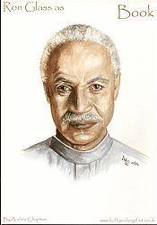 Ron Glass as Shepherd Book from Firefly