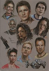 Big Damn Heroes - Cast of Firefly