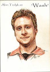 Alan Tudyk as Wash from Firefly