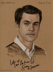 Sean Maher as Simon Tam from Firefly