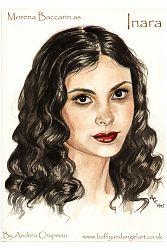 Morena Baccarin as Inara Sera from Firefly