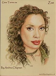 Gina Torres as Zoe Alleyne from Firefly