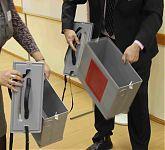 Переносная урна для голосования на дому.