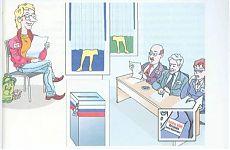 Схема работы избирательной комиссии.