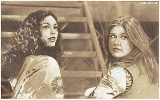 Inara and Kaylee. The Look.