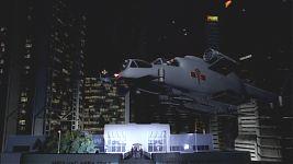 «Фейковый» шаттл скорой медицинской помощи садится на крышу больницы Святой Лючии