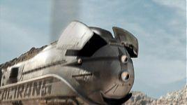Монорельсовый поезд из эпизода «Ограбление поезда»