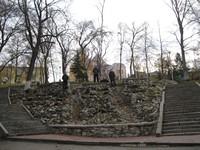Один из парков Самары.
