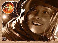 «Да здравствует Вселенная!» Ривер очень органично смотрится в скафандре на фоне бескрайнего космоса. Эпизод «Объекты в пространстве».