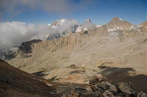 Вид с перевала Сарынтау.
