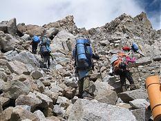 Подъём на перевал Каярта-Южный.